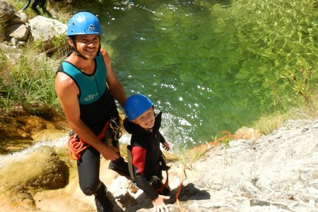 canyoning canyon audin nice
