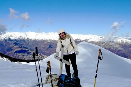 sommet du ceppo randonnee raquettes alpes maritimes