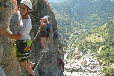 via ferrata canyoning tende alpes maritimes