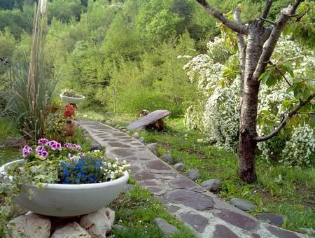 jardin gite breil sur roya