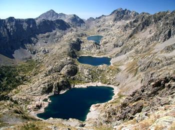 Les lacs de Valmasque mercantour