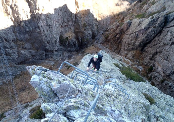 via ferrata tende alpes maritimes nice