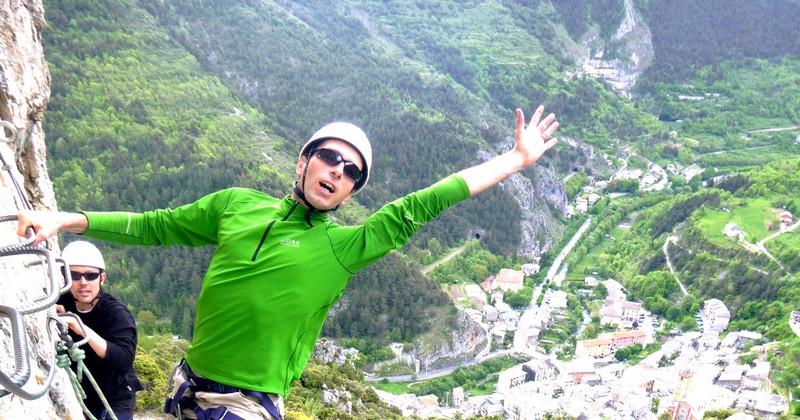 via ferrata tende canyoning alpes maritimes