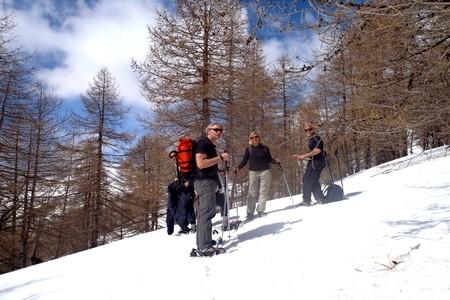 raquette a neige sanremo Itali
