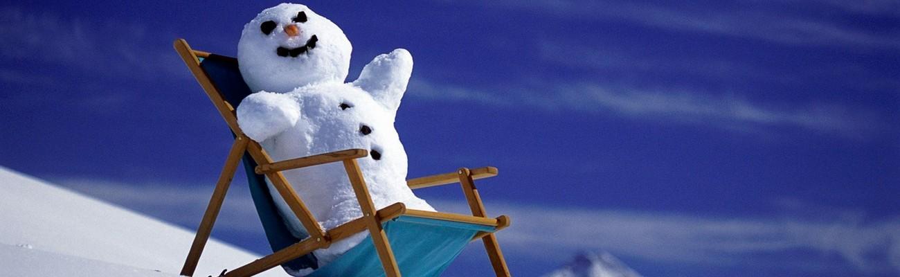 homme de neige