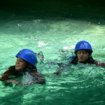 Canyon audin canyoning d'initiation alpes maritimes