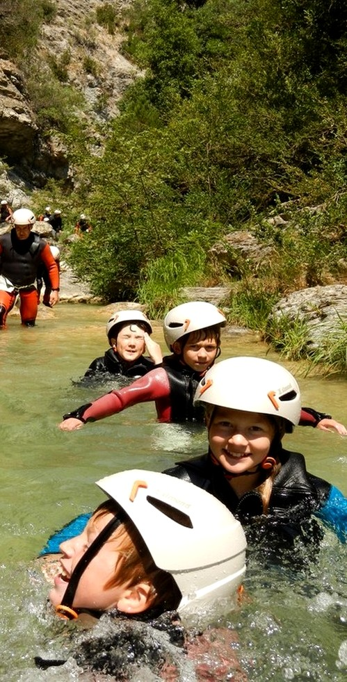 canyoning facile sejour nice