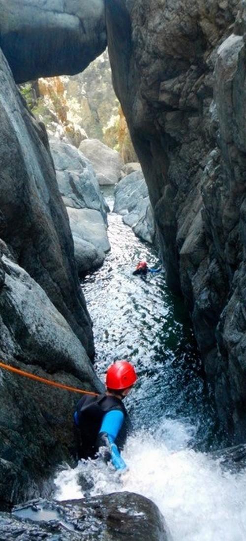 canyoning lerca ligurie alpes maritimes