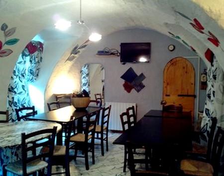 salle à manger gîte breil sur roya