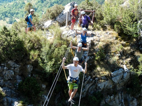 via ferrata sejour multi activita alpes maritime