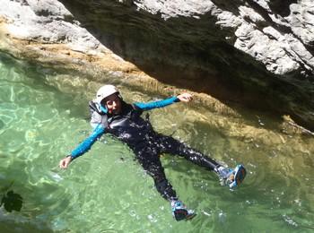 nage sejour eau vive alpes maritimes