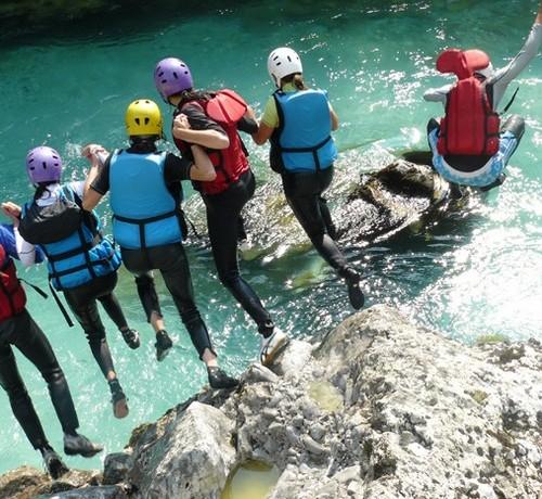 rafting enterrement vie de jeune fille alpes maritimes nice