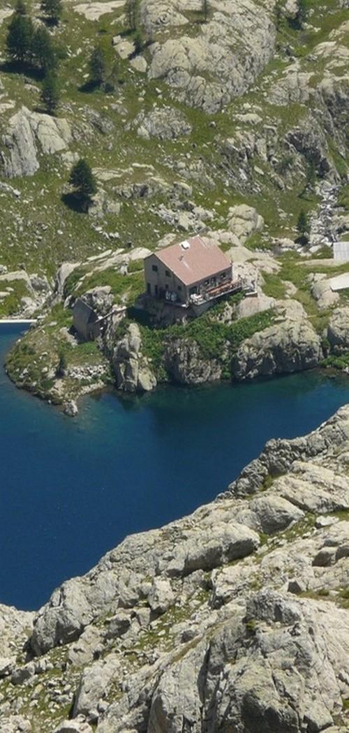refuge lac vert