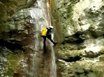 les rappels du canyon de l'Imberguet