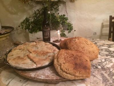 tourte et pain maison