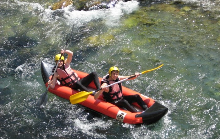 rafting 2 places