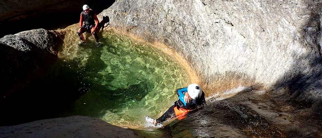 canyoning audin
