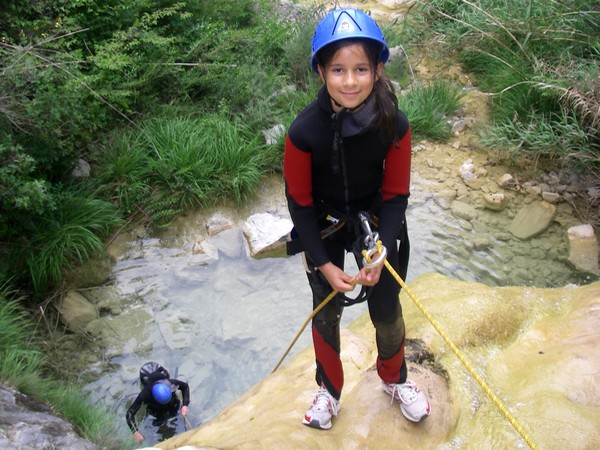 canyoning sejour famille alpes maritimes
