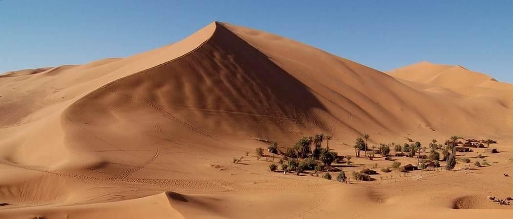 dune reveillon dans le desert