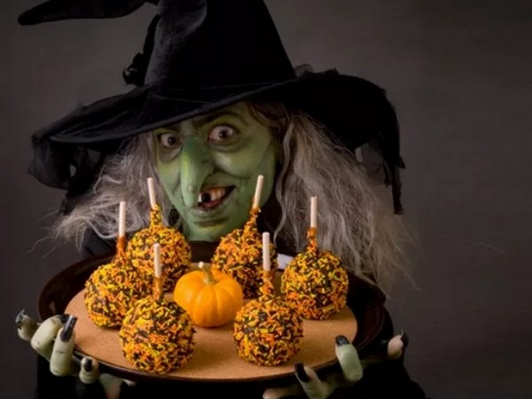 Halloween sorcière nice