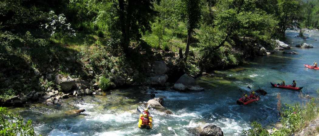 rafting sur roya