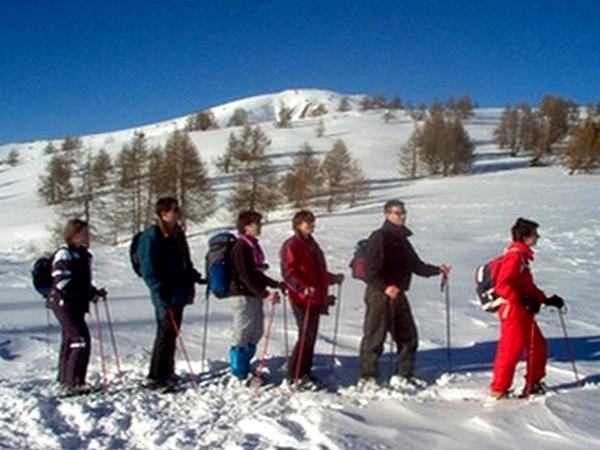 raquette a neige alpes maritimes groupe