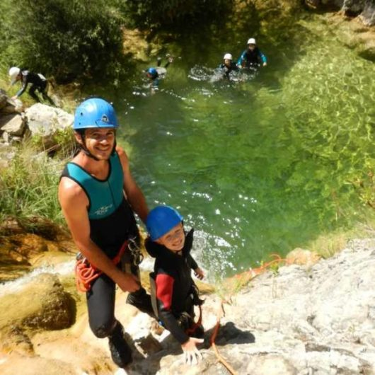 séjour canyoning famille