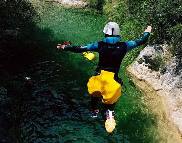 saut canyon airole