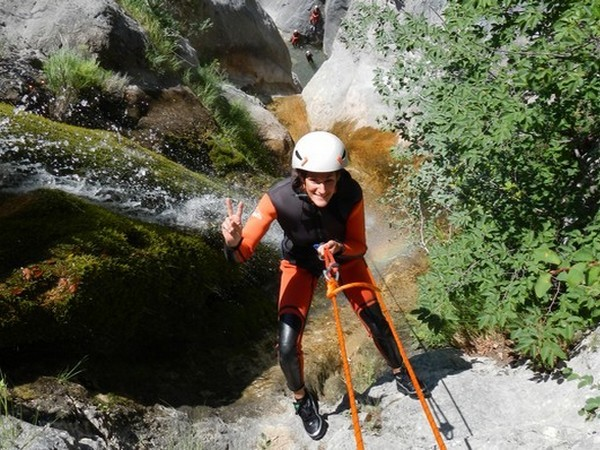 sejour 4 jours difficile canyoning nice paca