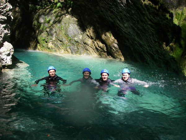 sejour faciles famille 4 jours canyoning nice paca
