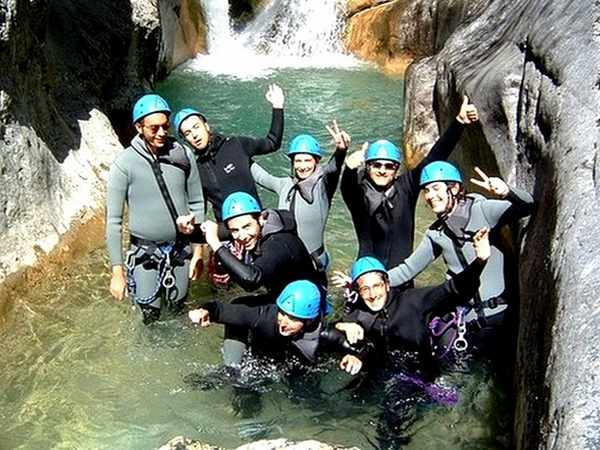 team building canyoning 06