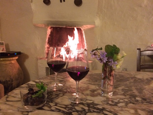verre vu vin gîte breil