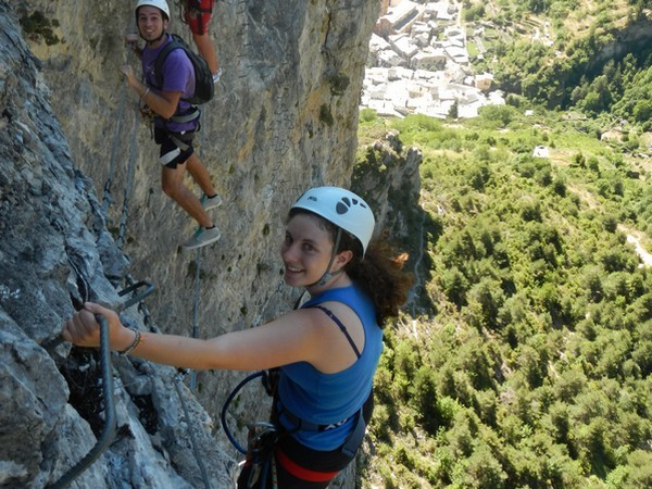 via ferrata tende alpes maritimes