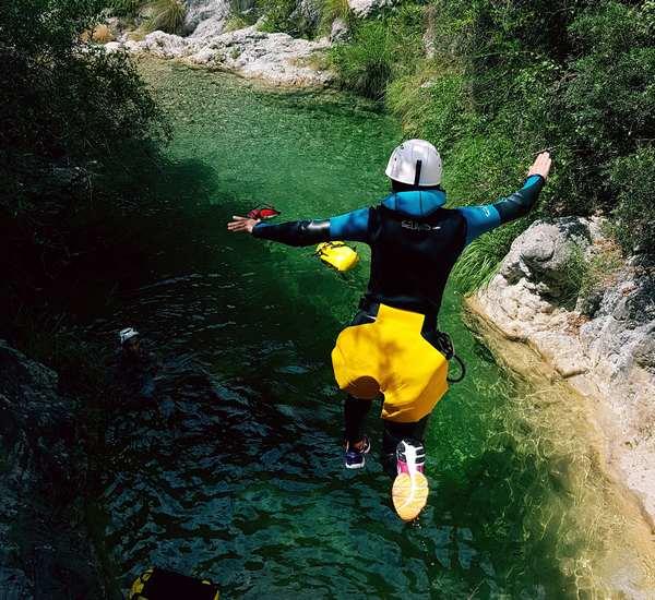 canyon airole saut