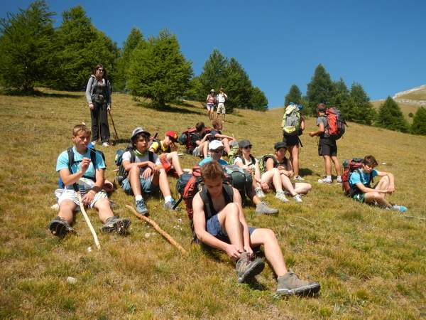 hike nationa park mercantour