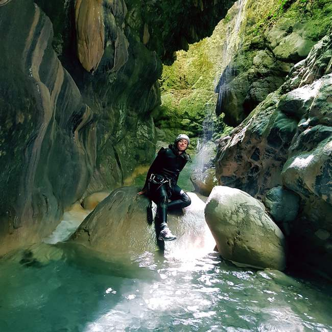 week end canyoning nice 06