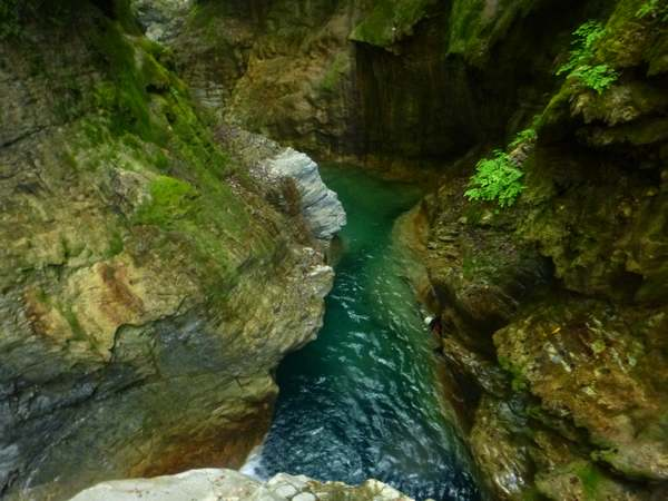 tropical canyoning