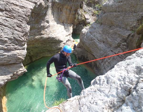 canyoning barbaira
