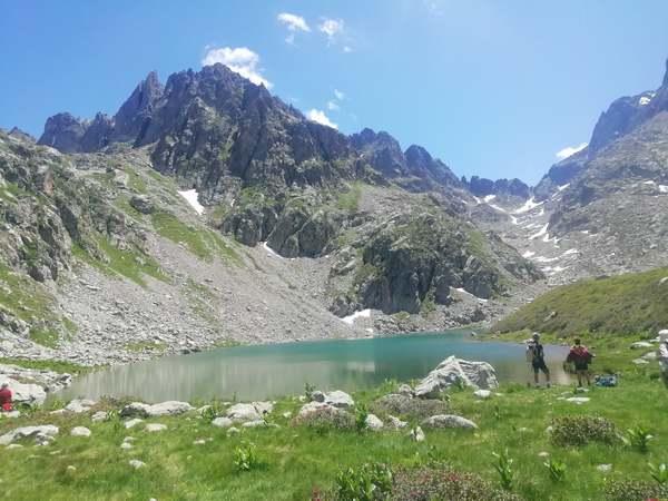 randonnée au lac autier
