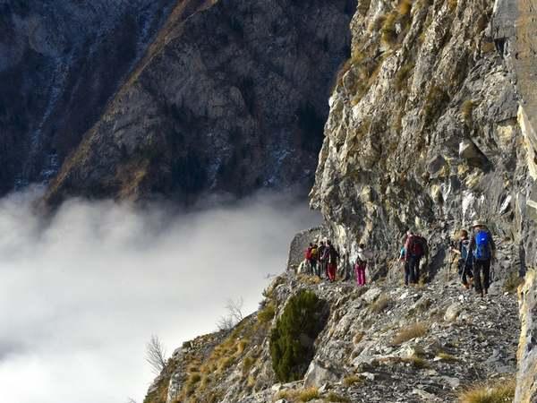sentier des alpins